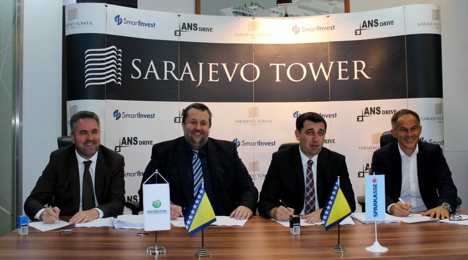 Sarajevo Tower: Na 26 Spratova 354 Nove Stambene Jedinice