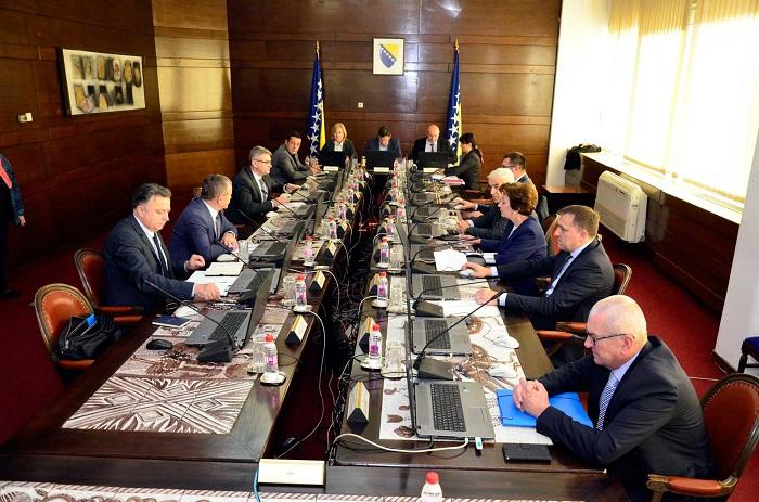 Počela Sjednica Vlade Federacije BiH U Sarajevu