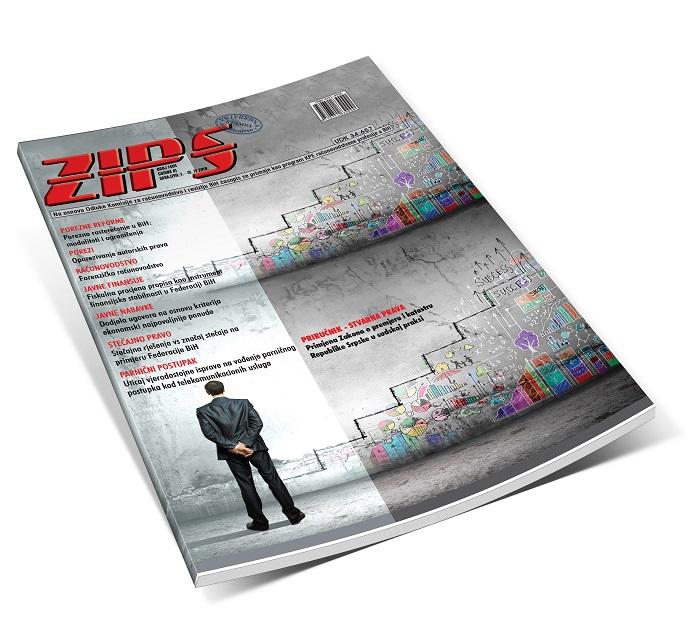 ZIPS U Broju 1404 Od 1. Do 15. IV 2019. Godine, Donosi