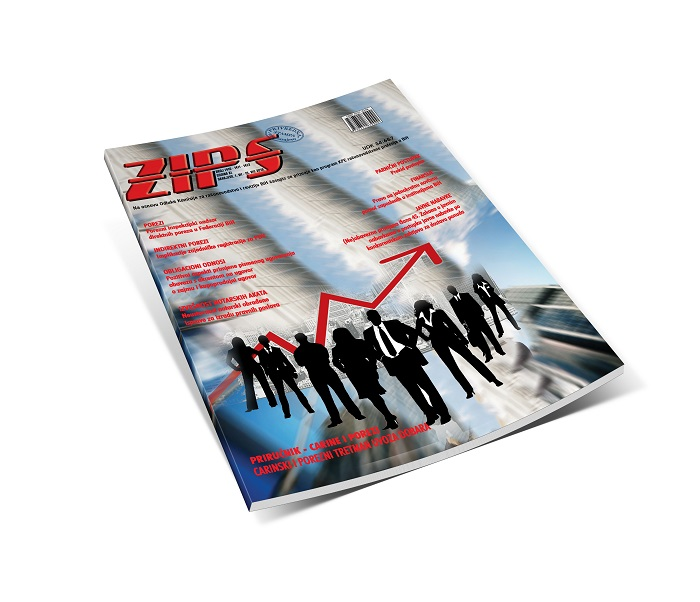 ZIPS U Broju 1410, 1411, 1412 Od 1. VII Do 15. VIII 2019. Godine, Donosi
