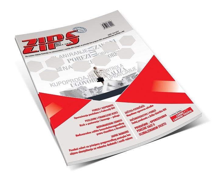 ZIPS U Broju 1413 Od 16. Do 31. VIII 2019. Godine, Donosi
