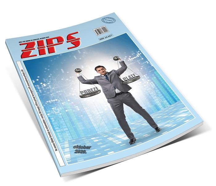 ZIPS u broju 1431, oktobar 2020. godine, donosi