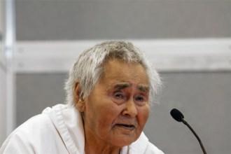 Naalak Nappaaluk, Inuk Elder, Kangirsujuaq, Nunavik, Canada