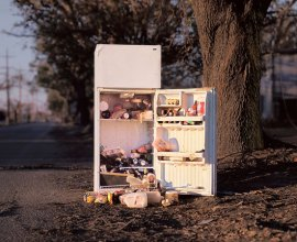 Refrigerator on Franklin Avenue