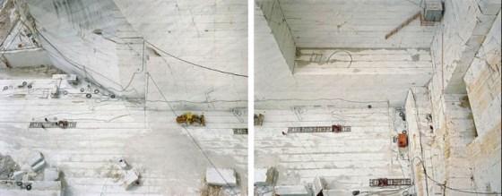 Carrara Marble Quarries # 24 & 25 (Diptych), Carrara, Italy