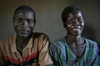 Daison Luke and Faness Bisamoro. Petros Village, Malawi, 2006