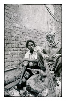 Ram Jannai is a drain cleaner and Dillah Massi a street sweeper. They are paid by the local community as the government does not supply a complete...