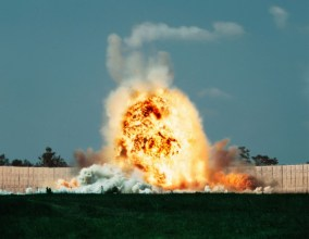 Exploding Warhead, Test Area C-80C, Eglin Air Force Base, Florida