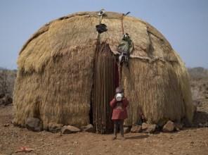 Borana tribal home, Gotu Village, Nakuprat-Gotu Community Conservancy