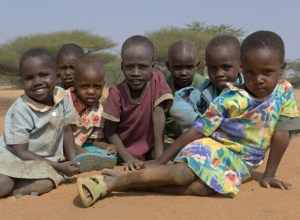 Samburu children at Naisunyai Primary School, West Gate Community Conservancy