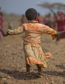 Borana child at Gotu School, Gotu Village, Nakuprat-Gotu Community Conservancy