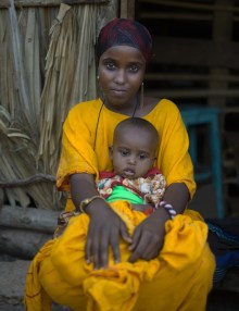 Borana mother and baby, Gotu Village, Nakuprat-Gotu Community Conservancy