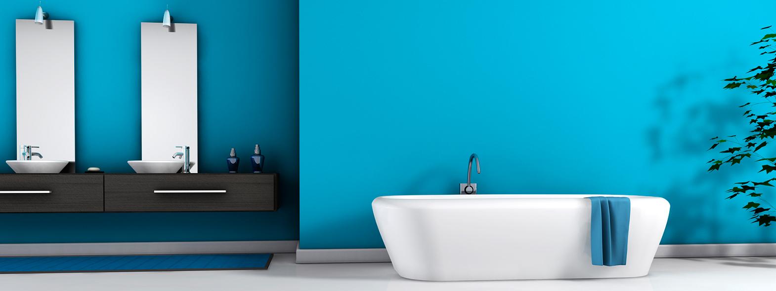 murs de votre salle de bain