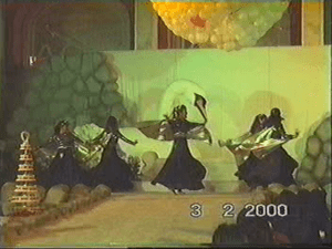 Priya & troupe dance at Royal Family bridal shower UAE 2000