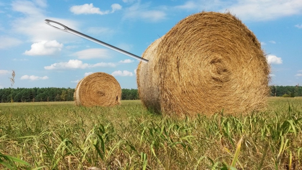 How to find a research problem in a haystack of papers