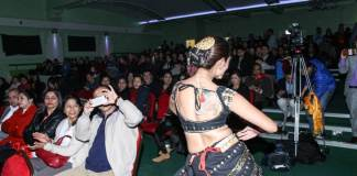Priyanka Karki UK Program 2073 New Year