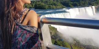 Priyanka Karki enjoying Niagara Falls 3