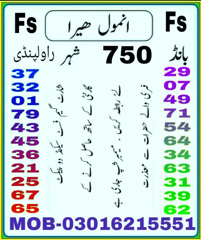 750 Prize bond Guess papers Rawalpindi 2018 (5)