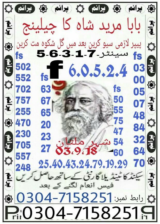 Baba Mureed Shah Ka Challange