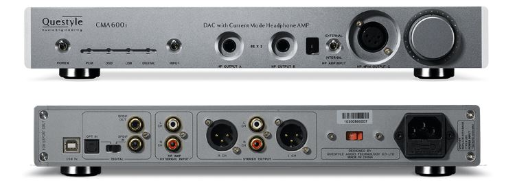 Questyle CMA600i-S — Best DAC Amp Headphone Combo