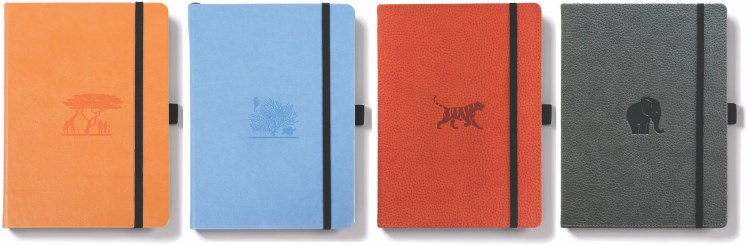 Dingbats Wildlife - Best Hardcover Bullet Journal Notebook