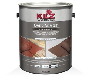 KILZ Over Armor Textured Wood Concrete Coating Review