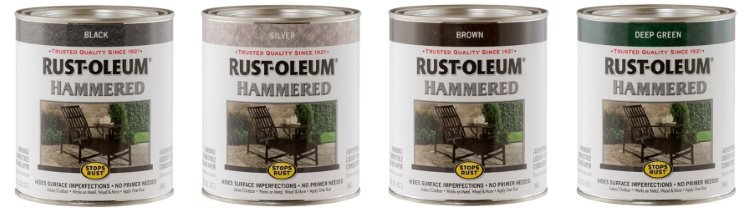 Rust Oleum Hummered Concrete Paint - Best Paint for Concrete Floors