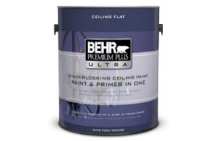 BEHR PREMIUM PLUS ULTRA Stain-Blocking Ceiling Paint Review