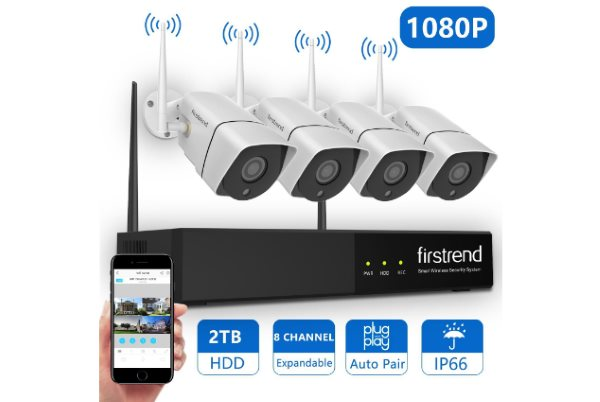 Firstrend 8CH Wireless NVR System Review