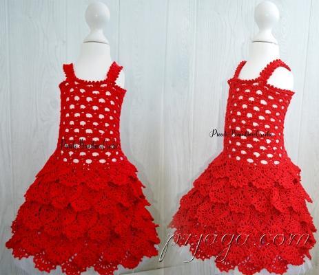 Dress Girl Crochet.