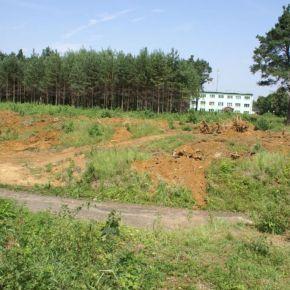 Prace związane z rozbudową cmentarza
