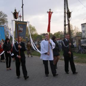 Procesja wielkanocna w 2011r.