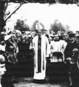biskupMirow0001small 273x300 Poświęcenie koscioła