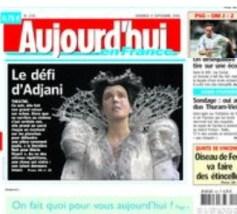 Le Parisien Adjani
