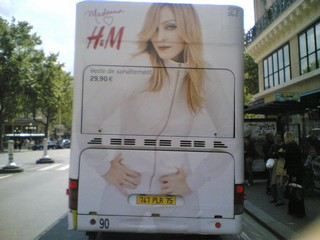 Madonna bus