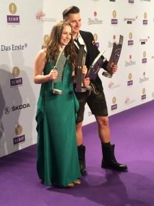 Andreas Gabalier und Senta-Sofia Delliponti (Oonagh)