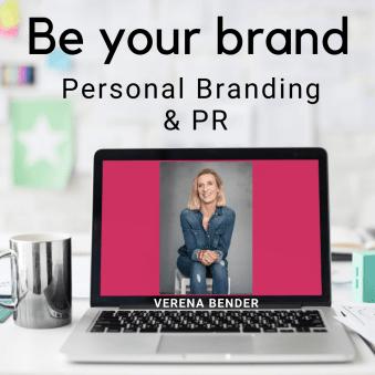 Be your Brand, Podcast, Personal Brandiing, Sichtbarkeit, Verena Bender