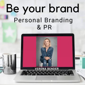 Be your Brand, Podcast, Personal Branding, Sichtbarkeit, Verena Bender, Personal Branding Coach, Personenmarke