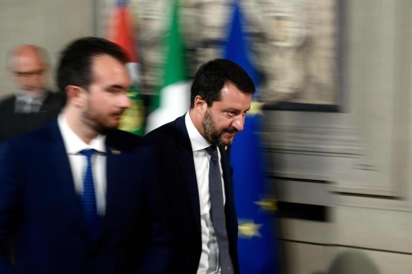 Le leader italien de La Ligue, Matteo Salvini, mis en échec mais ne s'avoue pas vaincu