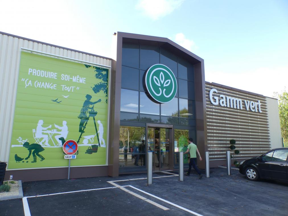 gamm vert ouvre son magasin a