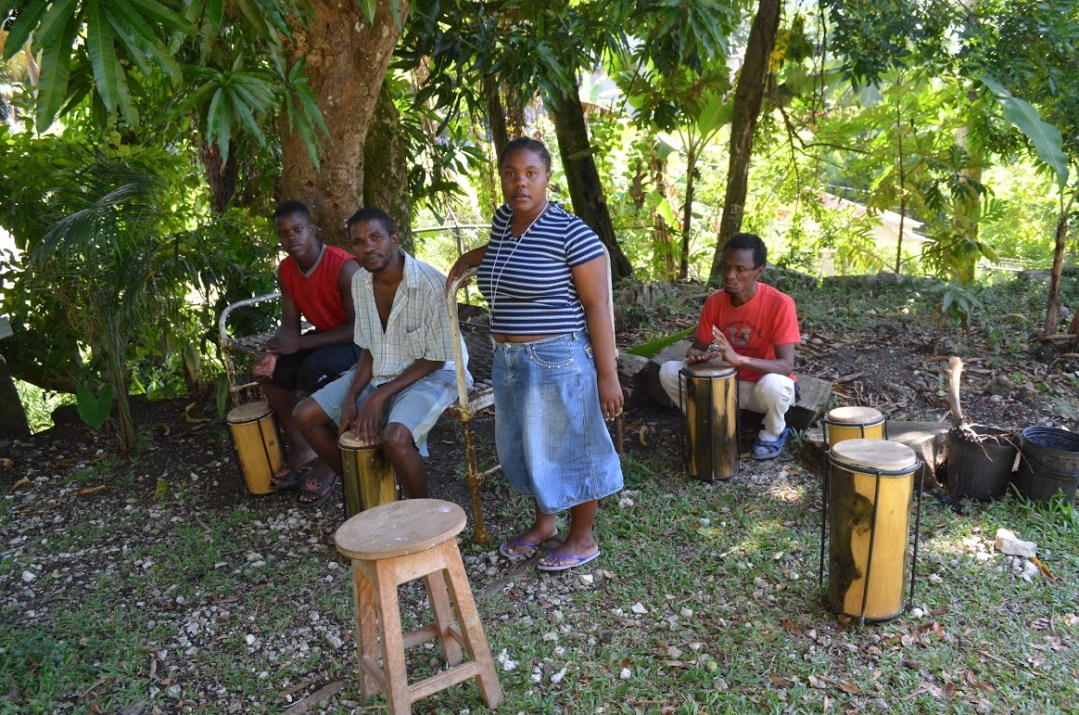 Drumming at PRM