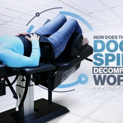Spinal Decompression Chair Swivel Side Table Progressive Rehabilitation Medicine How Does The Doc Work
