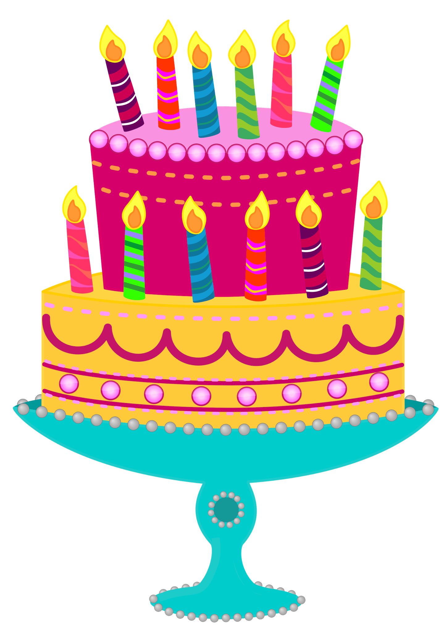 Birthday Clipart For Him : birthday, clipart, Birthday, Clipart, Coloring, Pages, Other, Printable, Design, Themes