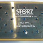 Storz 39301LL Endoscopy Extended Length Laparoscope Storage/ Sterilization Tray – Used