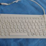 M&M Medical Washable SlimCool Low Profile Keyboard – Used