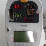 Philips SureSigns VS1 Patient Monitor – For parts or not working