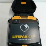 Physio-Control LifePak CR Plus AED – For parts or not working