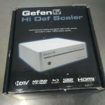 GenFen TV Hi Def Scaler – GTV-HIDEFS – For parts or not working