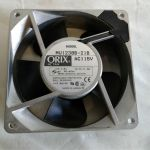 Orix Oriental Motor AC Fan MU1238B-21B AC115V 50/60Hz 12.5/11.5W – For parts or not working