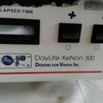 DVI DVI2K Daylite Xenon 300 Watt Universal Fiber Optic Surgical Light Source – For parts or not working